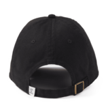 Life is Good Chill Cap Color Block Heart, Night Black