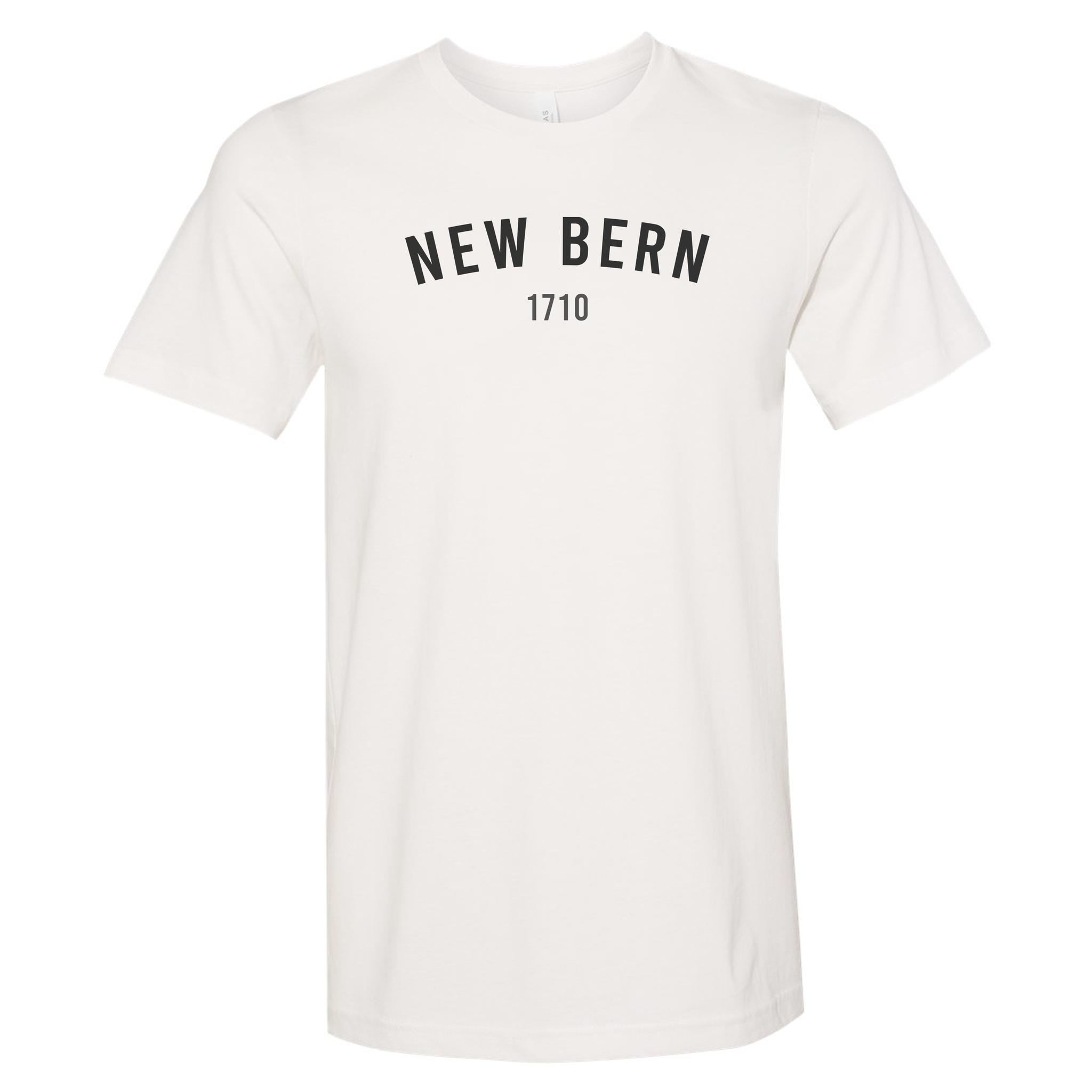 S.L. Revival Co. New Bern 1710 Shirt, S/S, Vintage White