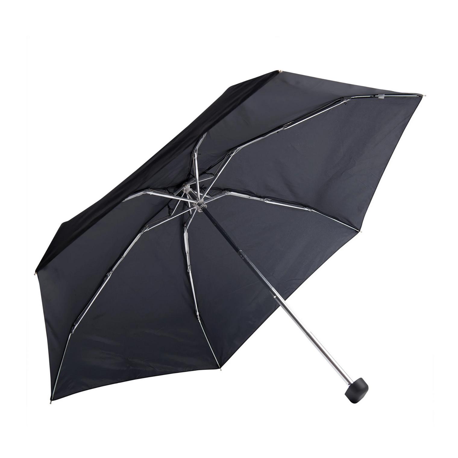 Travelling Light Pocket Umbrella, Black-1