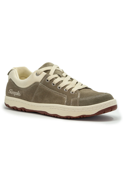 OS Sneaker, Suede, Taupe