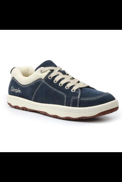 OS Sneaker, Suede, Navy