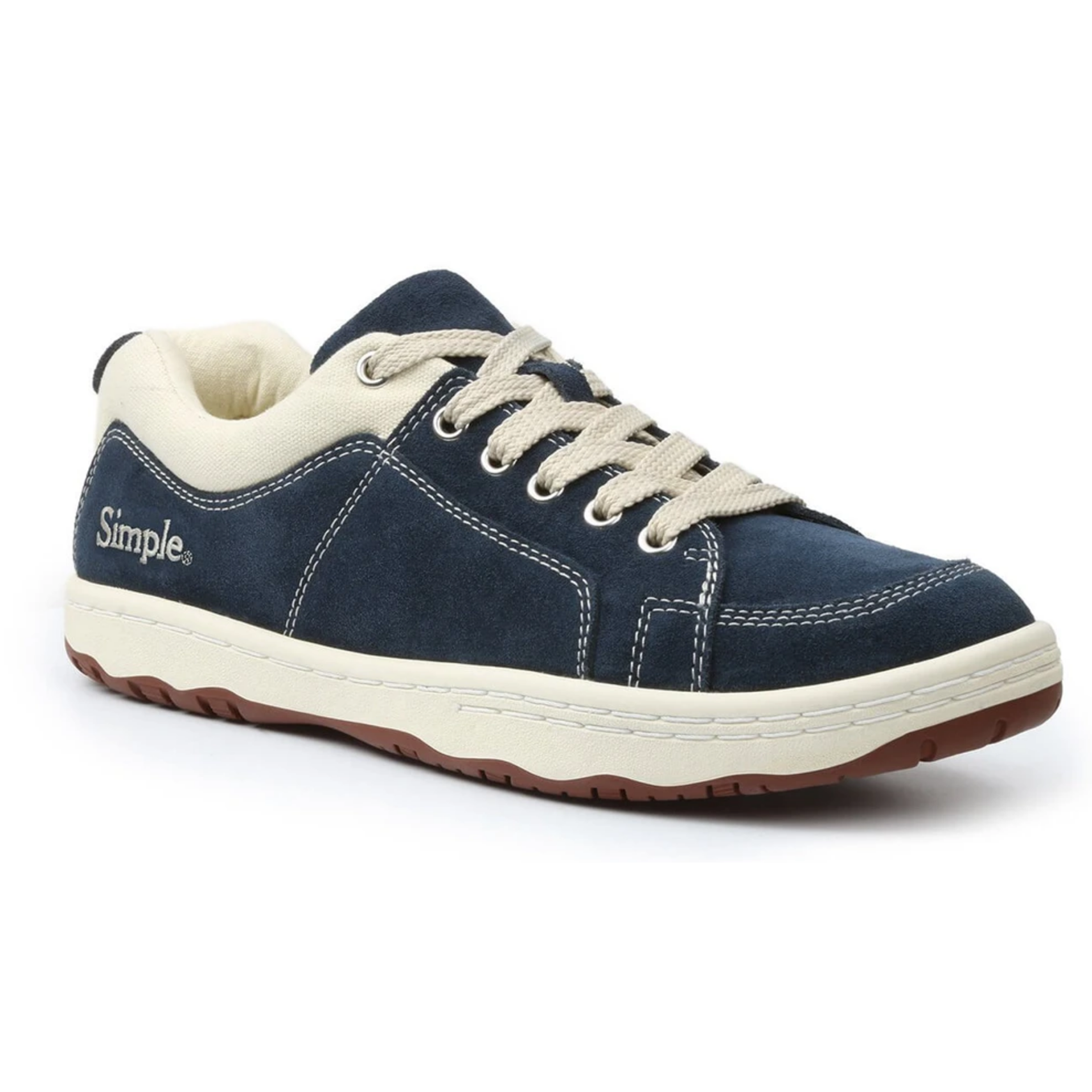 Simple Shoes OS Sneaker, Suede, Navy