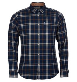 Barbour M's Highland Check 20 Tailored, Blue