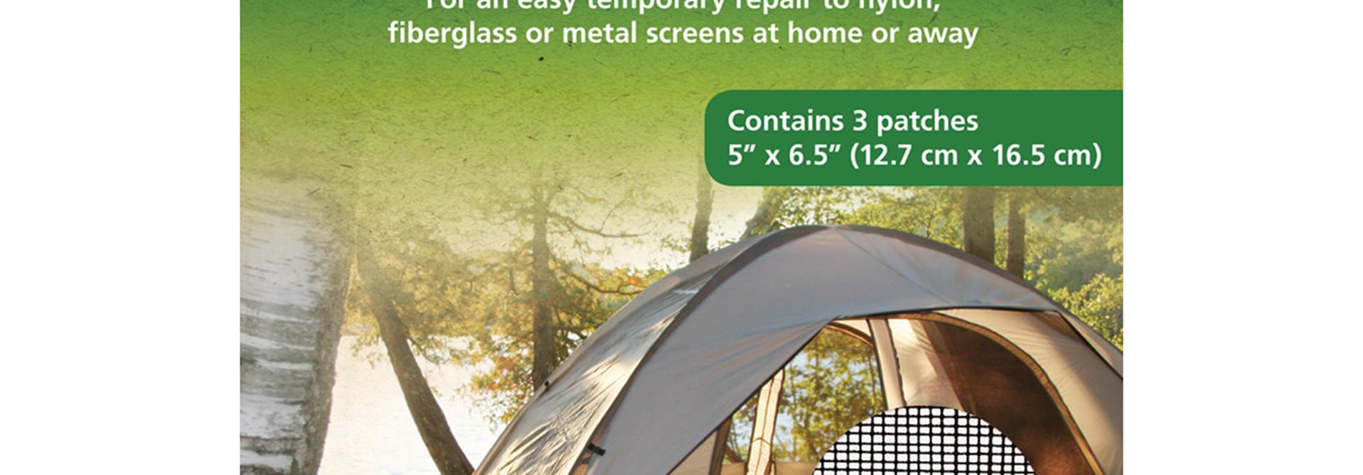 Self-Adhesive Screen Patches Tent Repair