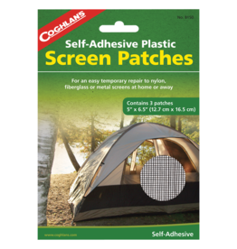 COGHLANS Self-Adhesive Screen Patches Tent Repair