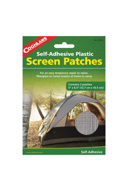 Self-Adhesive Screen Patches Tent Repair