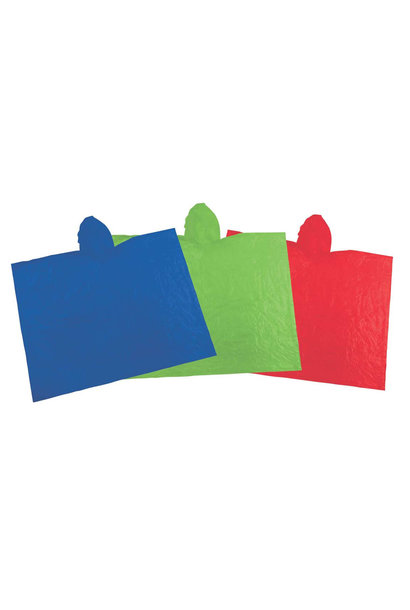 Emergency Poncho, Assorted Colors