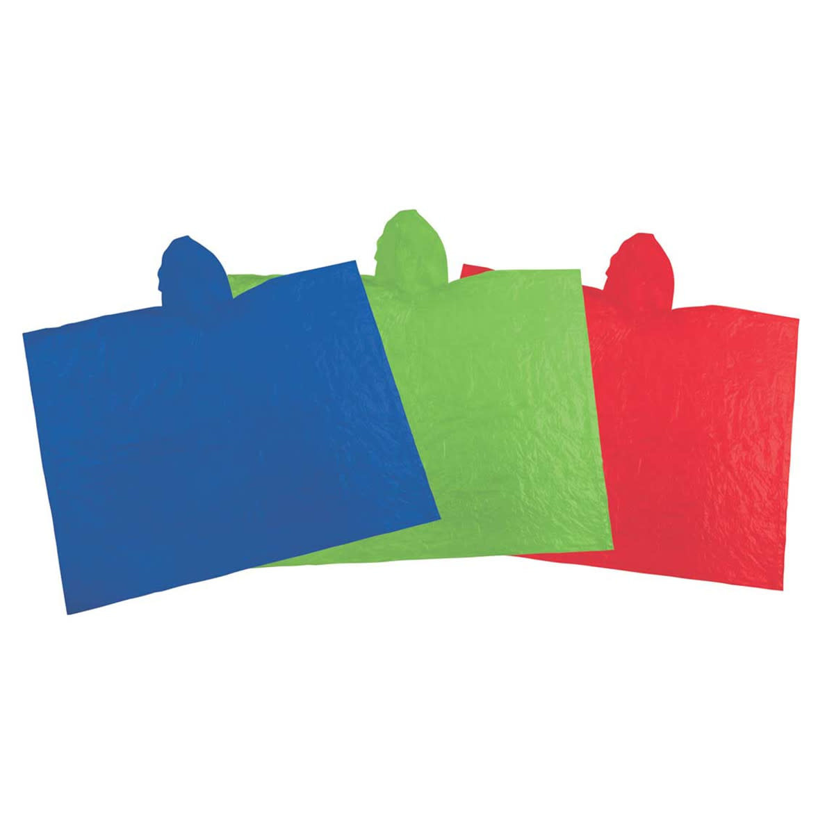 Emergency Poncho, Assorted Colors-1