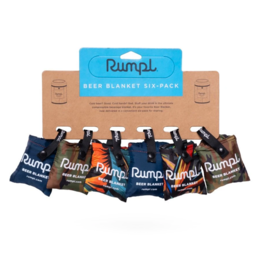 Rumpl Beer Blanket Six-Pack, Assorted