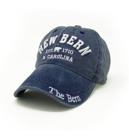 New Bern The Bern 1710 Hat Embroidered, Navy