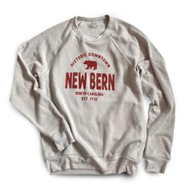 Historic Downtown New Bern, Sweatshirt, Dust