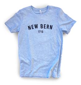 New Bern 1710 Shirt, S/S, Prism Blue