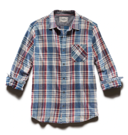 Flag and Anthem Valinda Vintage Washed Shirt, Red/White/Blue