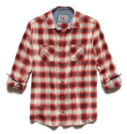 Flag and Anthem Albee Flannel Shirt, Red/White/Navy