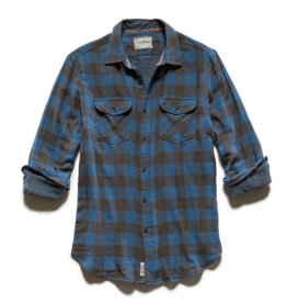 Flag and Anthem Belhaven Double Layer Shirt, Blue/Black