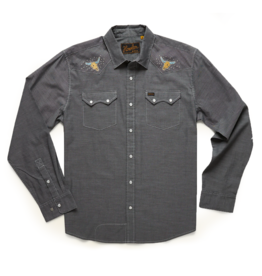 Howler Brothers Crosscut Deluxe Desert Trip, Spaceship Grey Oxford