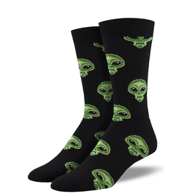 Socksmith M's Area 51, Black