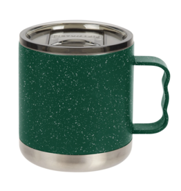 FIFTY/FIFTY Camp Mug 15oz., Speckled Green