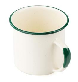 12 oz Enamel Mug, Cream