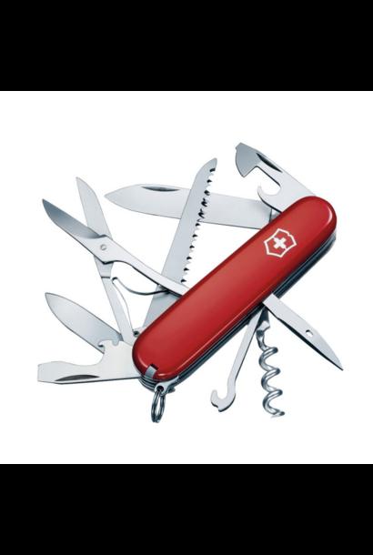 Huntsman Pocket Knife, Red