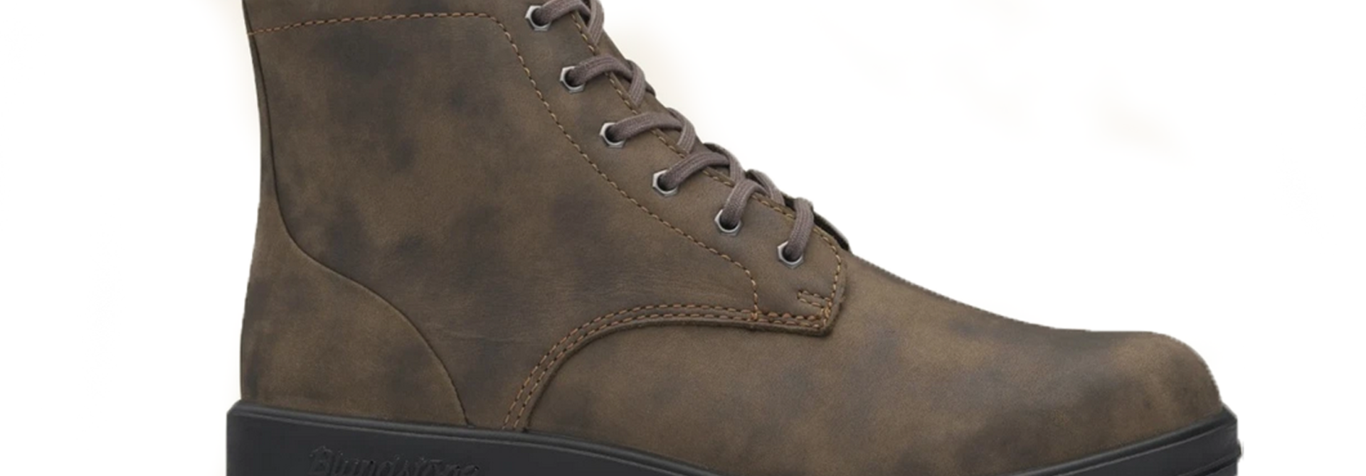 Original Lace Up Leather Boot, Rustic Brown