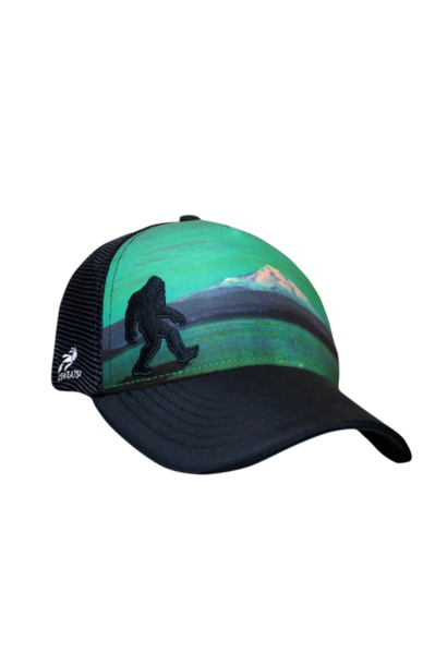 Bigfoot Hood Call Cap, Black