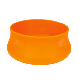 Squishy Dog Bowl Large 480z, Tangerine