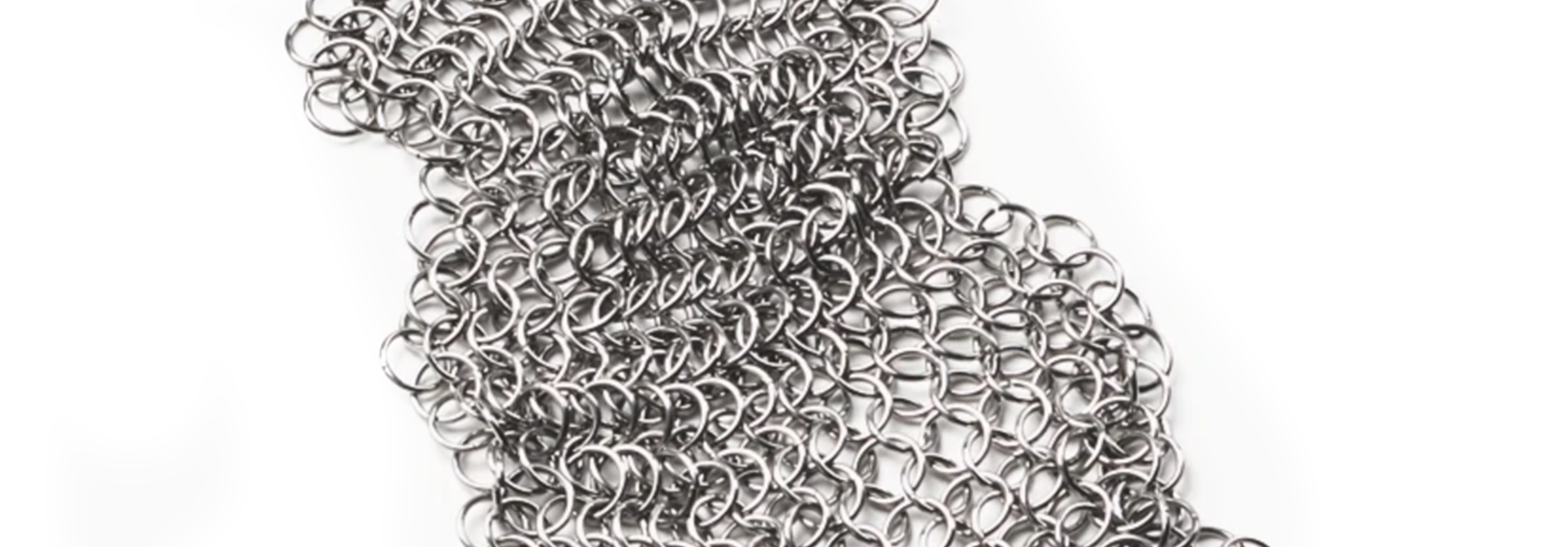 Stainless Steel Cleaning Mesh for cast iron