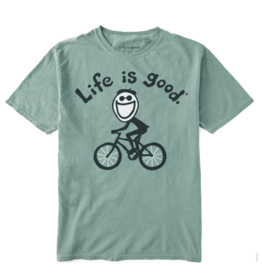 Life is Good Unisex Original Jake Cycling Tee