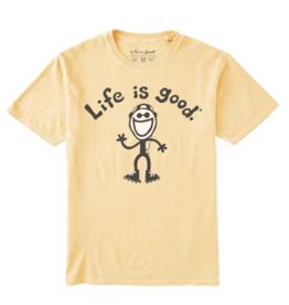 Life is Good Unisex Original Jake Inline Skating Tee