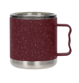 FIFTY/FIFTY Camp Mug 15oz., Speckled Red