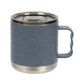 FIFTY/FIFTY Camp Mug 15oz., Speckled Slate