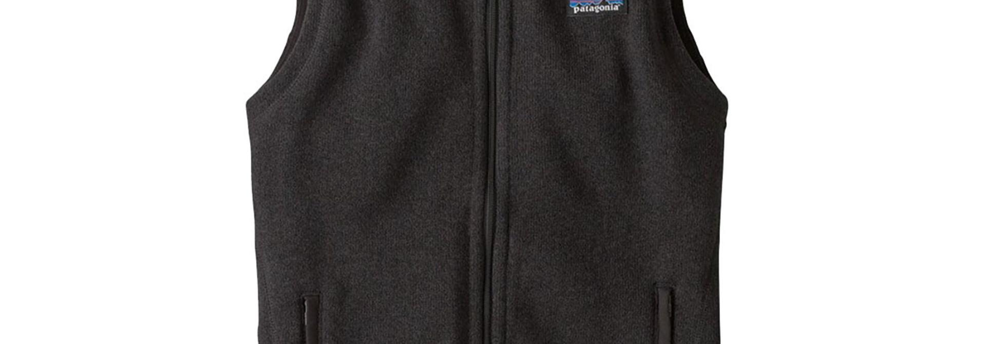 Women's Better Sweater Fleece Vest, Black