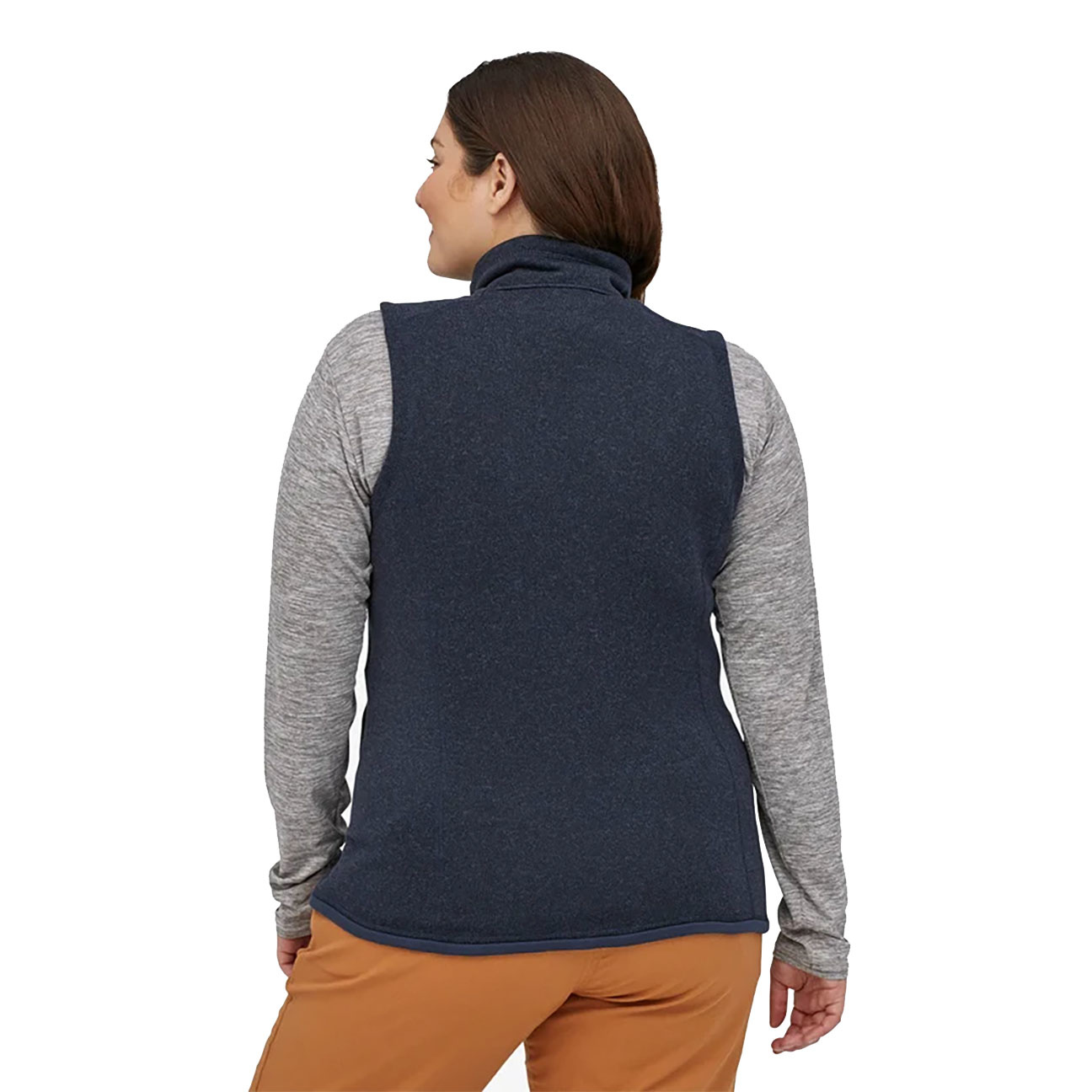 Women's Better Sweater Fleece Vest, Black-3