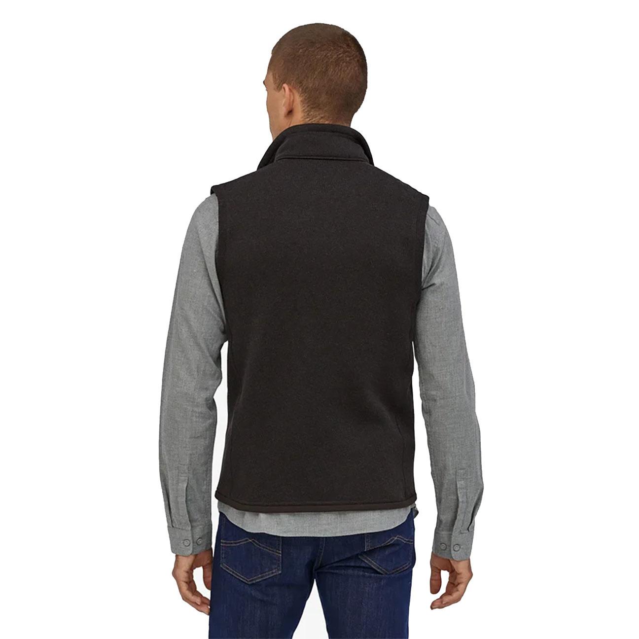 Men's Better Sweater Fleece Vest, Black-3