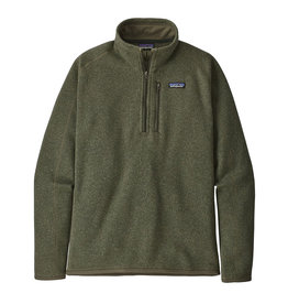 Patagonia M's Better Sweater 1/4-Zip, Industrial Green