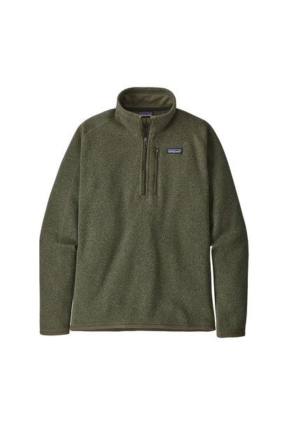 M's Better Sweater 1/4-Zip, Industrial Green