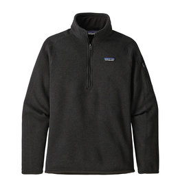 Patagonia W's Better Sweater 1/4-Zip, Black