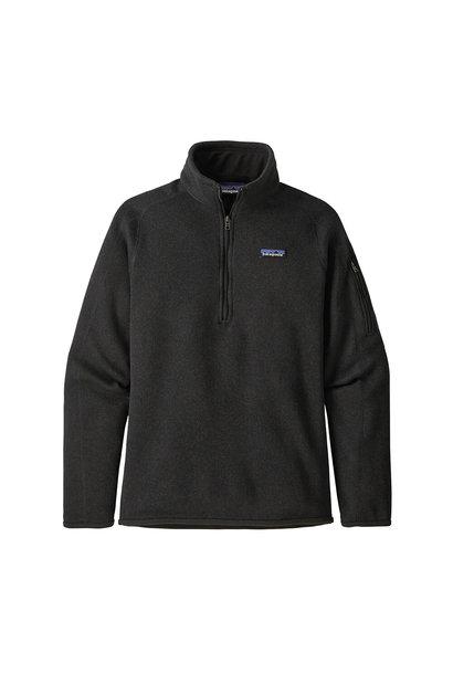 W's Better Sweater 1/4-Zip, Black