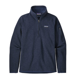 Patagonia W's Better Sweater 1/4-Zip, New Navy