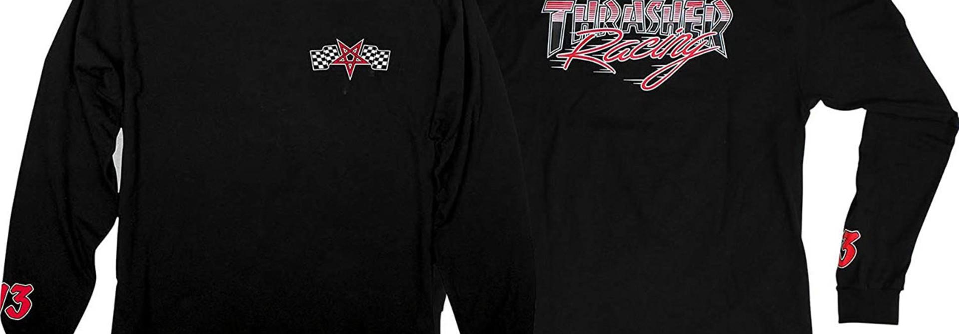 Racing Long-sleeve, Black/Red