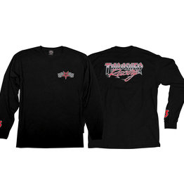 Thrasher Racing L/S, Black/Red