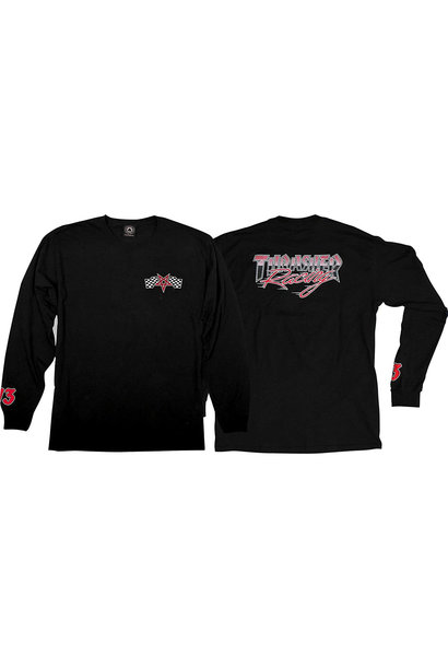 Racing L/S, Black/Red