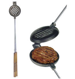 Rome Industries Original Cast Iron Hamburger Griller