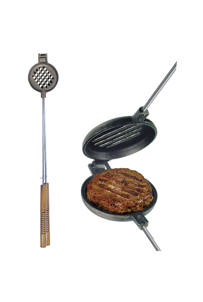 Original Cast Iron Hamburger Griller