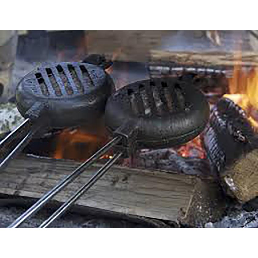 Original Cast Iron Hamburger Griller-2
