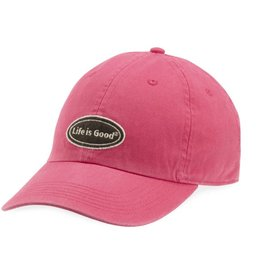 Life is Good A Chill Cap LIG Oval Chill, Pop Pink