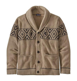Patagonia Men's Recycled Wool Shaw-Collar, Khaki