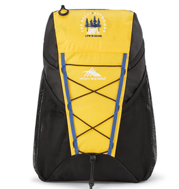 Life is Good High Sierra Pack-N-Go Backpack, Baja Yellow
