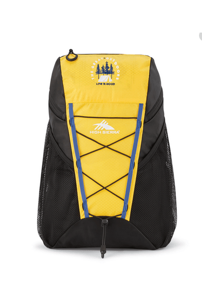 High Sierra Pack-N-Go Backpack, Baja Yellow